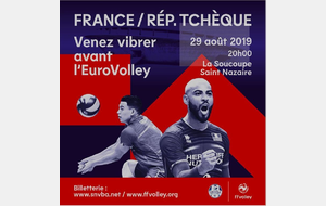 #WeAreEuroVolley à ST NAZAIRE : FRANCE/REP'TCHEQUE